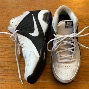 Nike Air Visi Pro HighTop Sneakers White Black 6.5